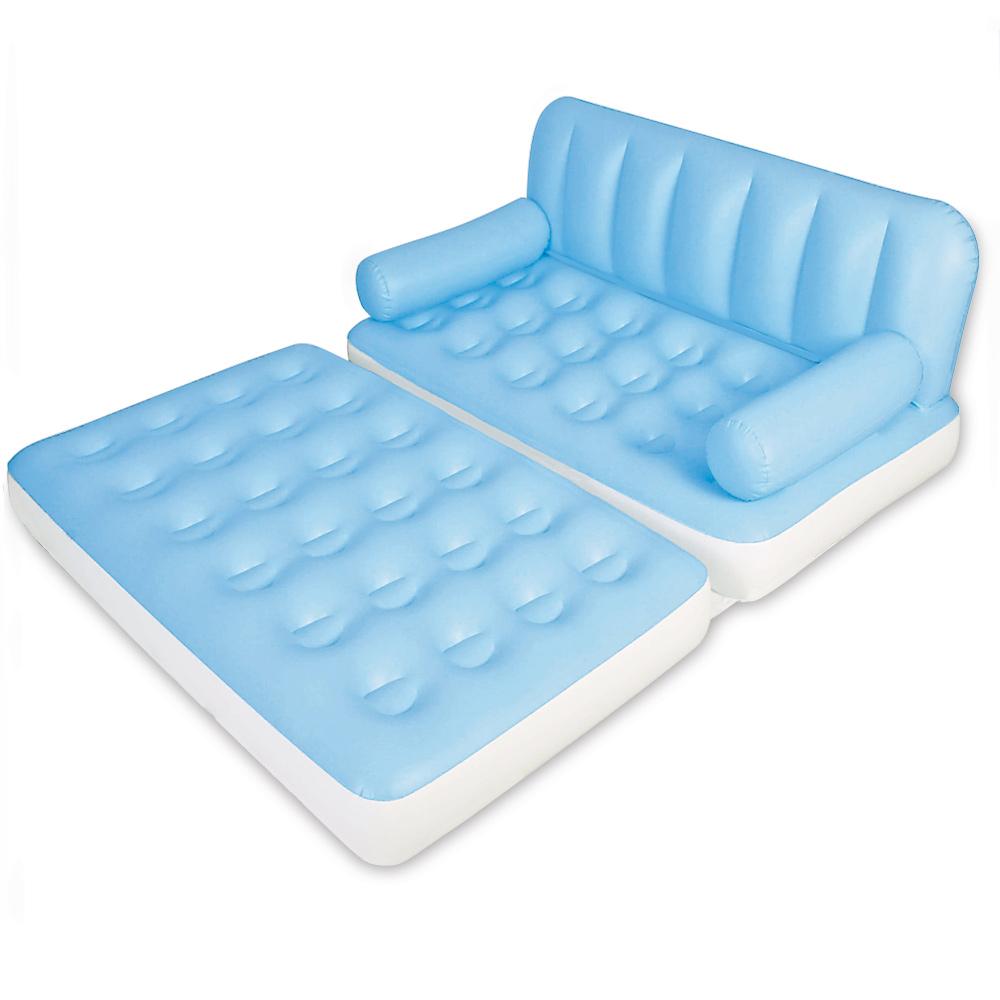 5in1 luftsofa aufblasbar sofa sessel bett couch g stebett reisebett luftmatratze ebay. Black Bedroom Furniture Sets. Home Design Ideas