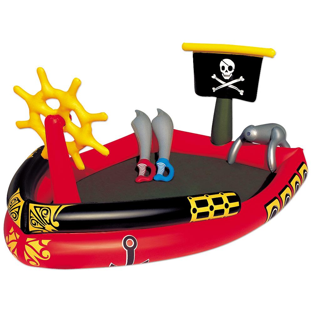 bestway piraten kinderpool planschbecken pool kinder swimmingpool wasserpistole ebay. Black Bedroom Furniture Sets. Home Design Ideas