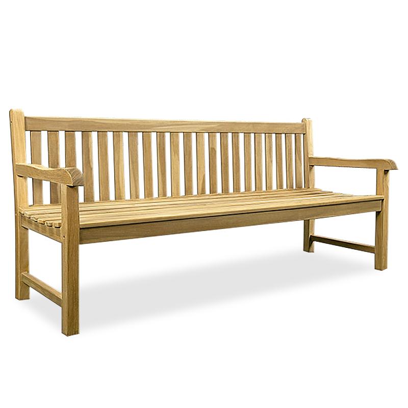 Garden Bench Wooden Seat Teak Timber Park Terrace Balcony Outdoor Furniture Ebay