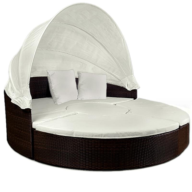poly rattan sonneninsel lounge sitzgarnitur sonnenliege. Black Bedroom Furniture Sets. Home Design Ideas