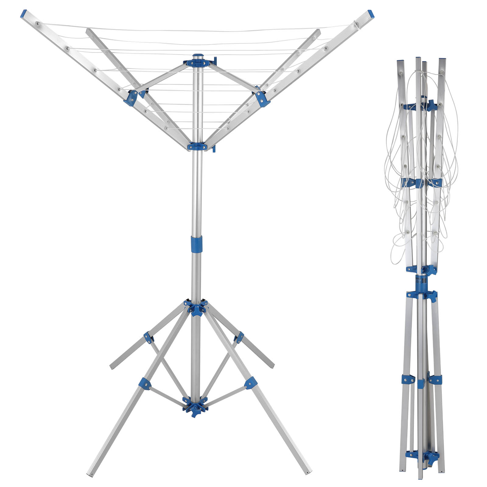 rotary clothes dryer airer washing line clothes laundry. Black Bedroom Furniture Sets. Home Design Ideas