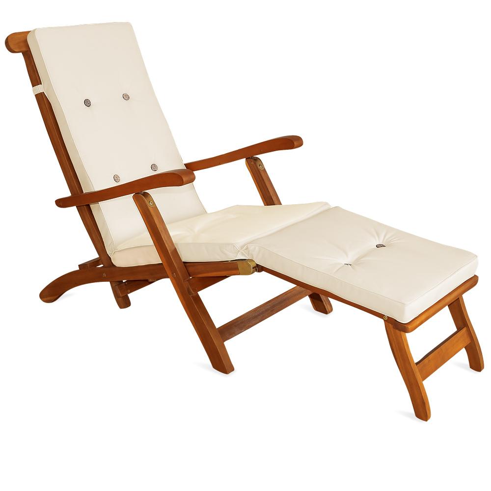 auflagen liegen kissen polster deckchair liegestuhl. Black Bedroom Furniture Sets. Home Design Ideas