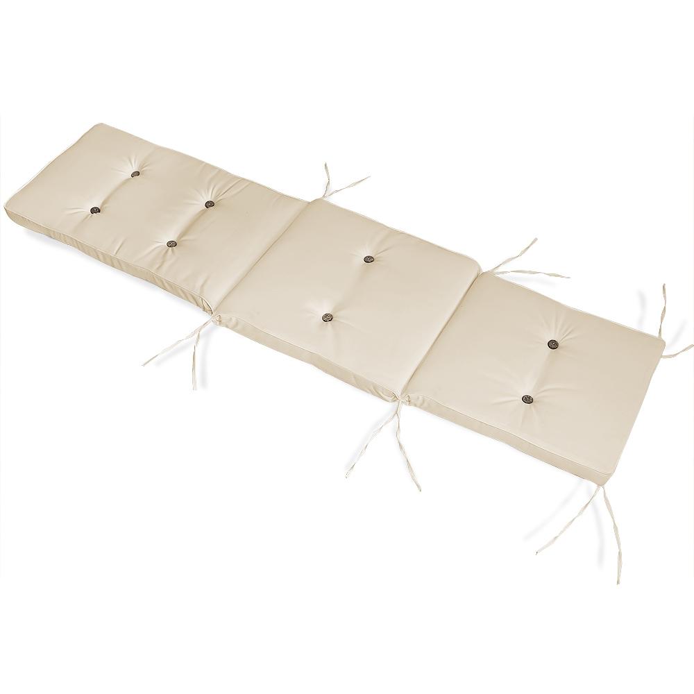 coussin pour chaise longue 173 cm matelas transat bain de soleil jardin ebay. Black Bedroom Furniture Sets. Home Design Ideas