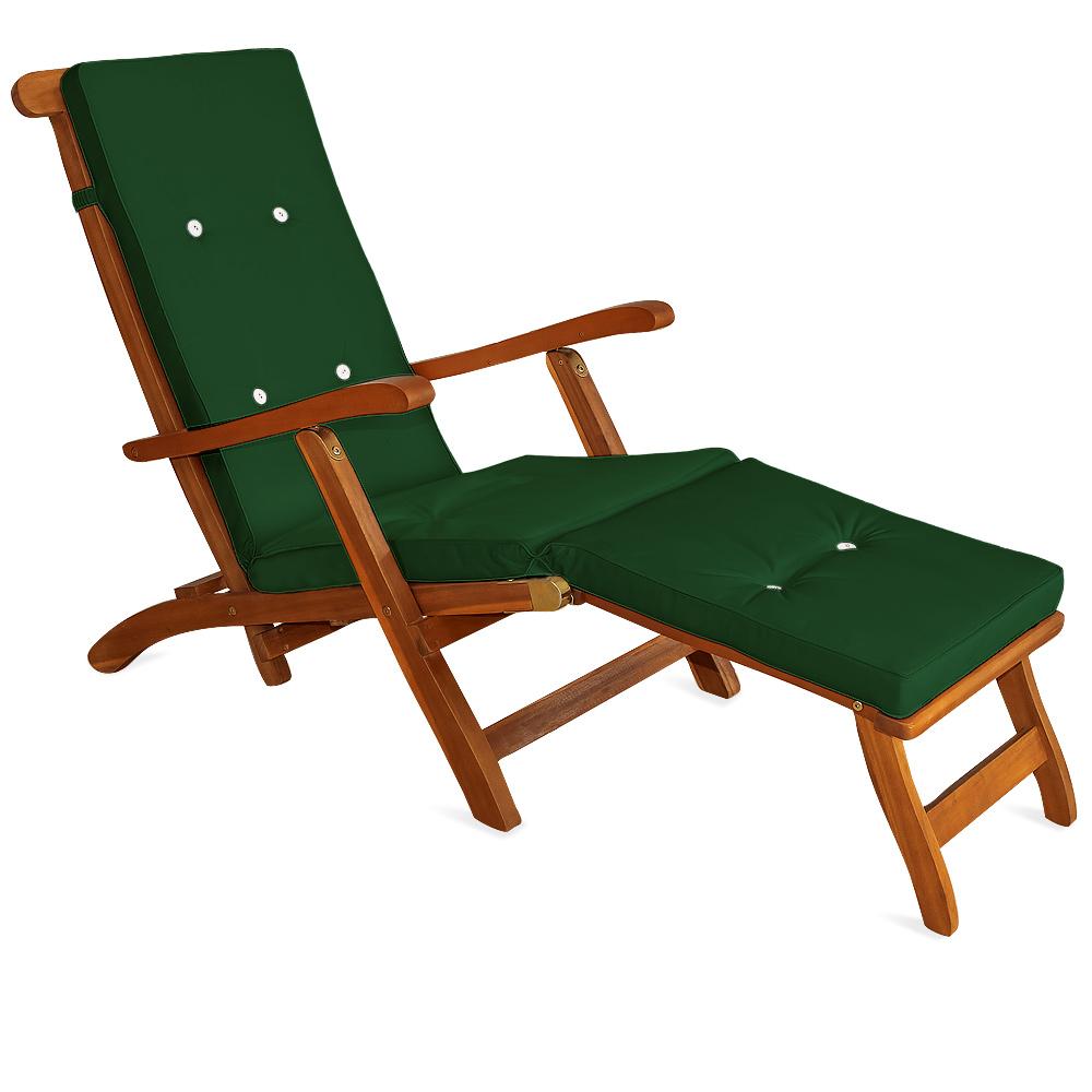 auflagen liegen kissen polster deckchair liegestuhl stuhlauflage sonnenliege ebay. Black Bedroom Furniture Sets. Home Design Ideas