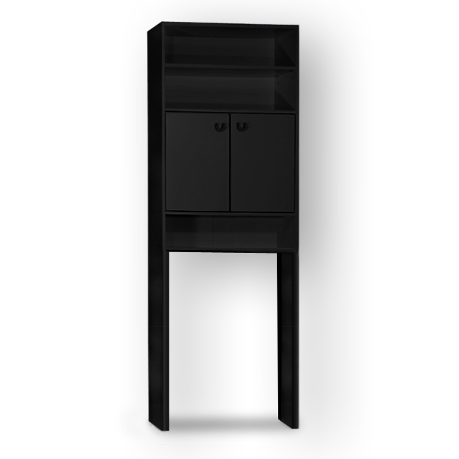 badezimmerschrank badhochschrank badschrank waschmaschine regal badregal sw ebay. Black Bedroom Furniture Sets. Home Design Ideas