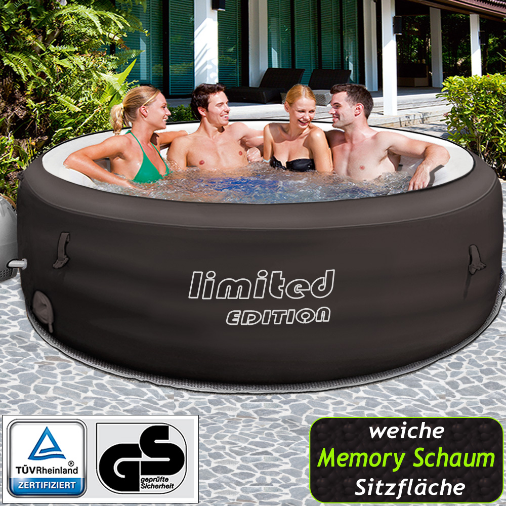 bestway lay z spa limited whirlpool jacuzzi aufblasbar outdoor filterpumpe pool ebay. Black Bedroom Furniture Sets. Home Design Ideas
