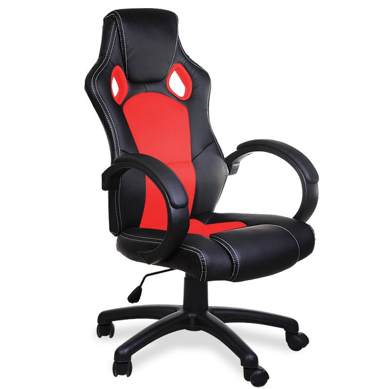office desk chairs pu computer swivel gaming executive office leather chair ebay