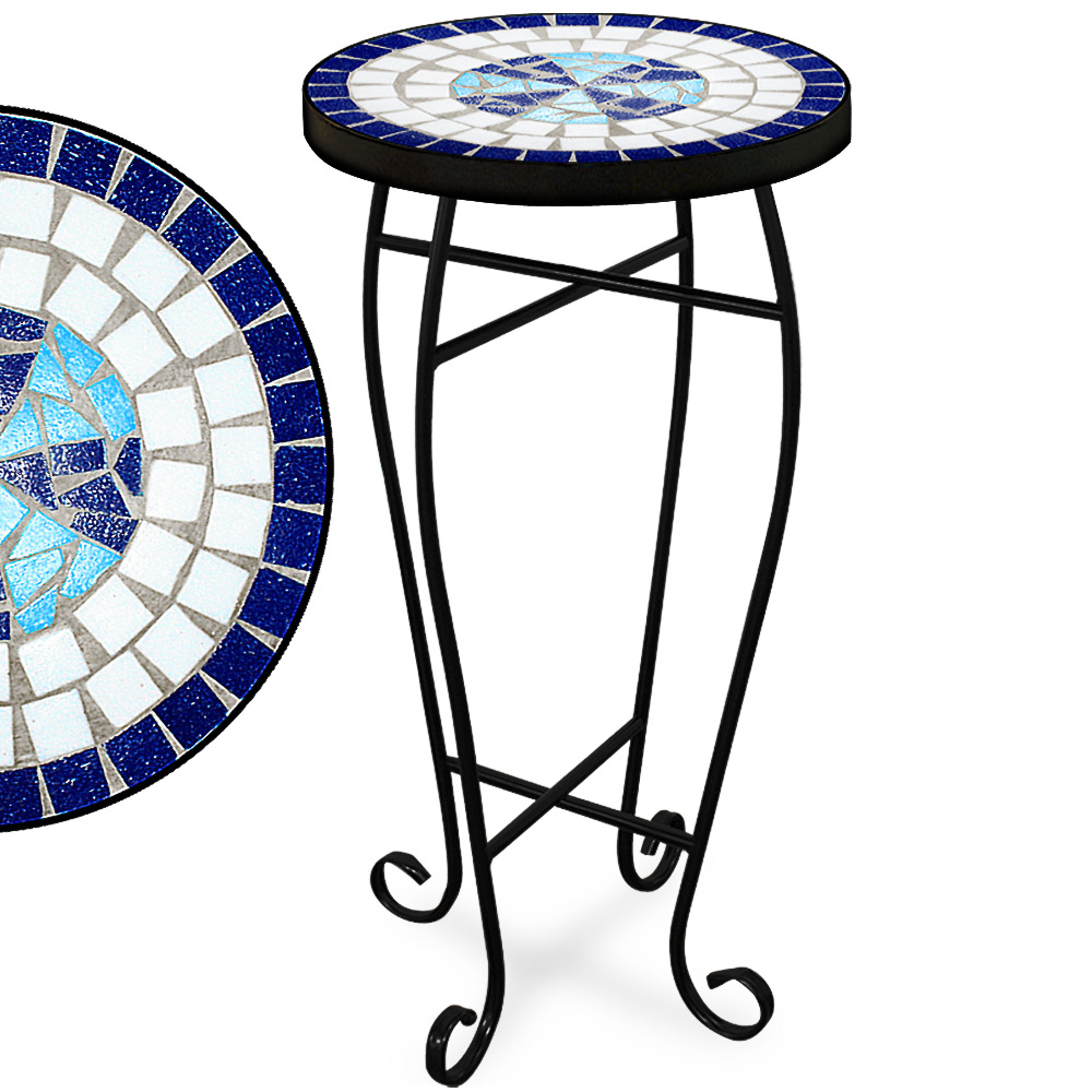 Marble Coffee Table Ebay Uk: Mosaic Garden Bistro Table Marble Outdoor Tables Bistro