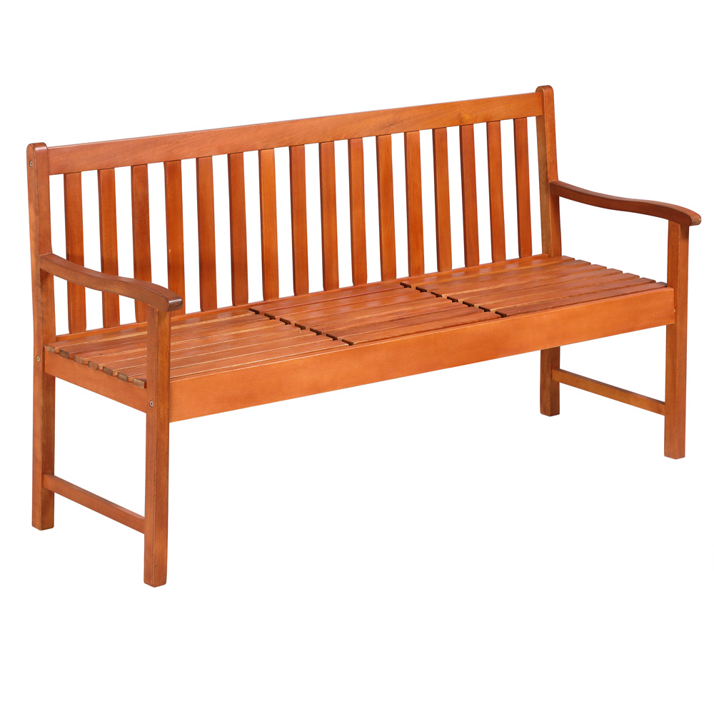 gartenbank holz garten bank sitzbank holzbank parkbank sitzgruppe bierbank teak ebay. Black Bedroom Furniture Sets. Home Design Ideas