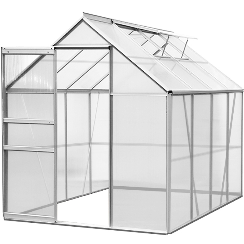 Greenhouse Polycarbonate Aluminium Cold Frames Grow Plants Growhouse ...