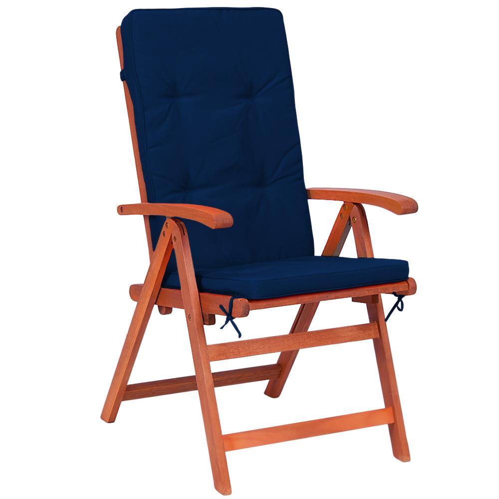 6x sitzkissen stuhlkissen stuhlauflage hochlehner auflage. Black Bedroom Furniture Sets. Home Design Ideas
