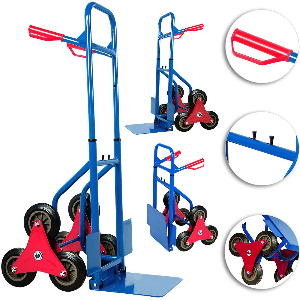 hand trolley stair climber sack barrow truck cart tri. Black Bedroom Furniture Sets. Home Design Ideas