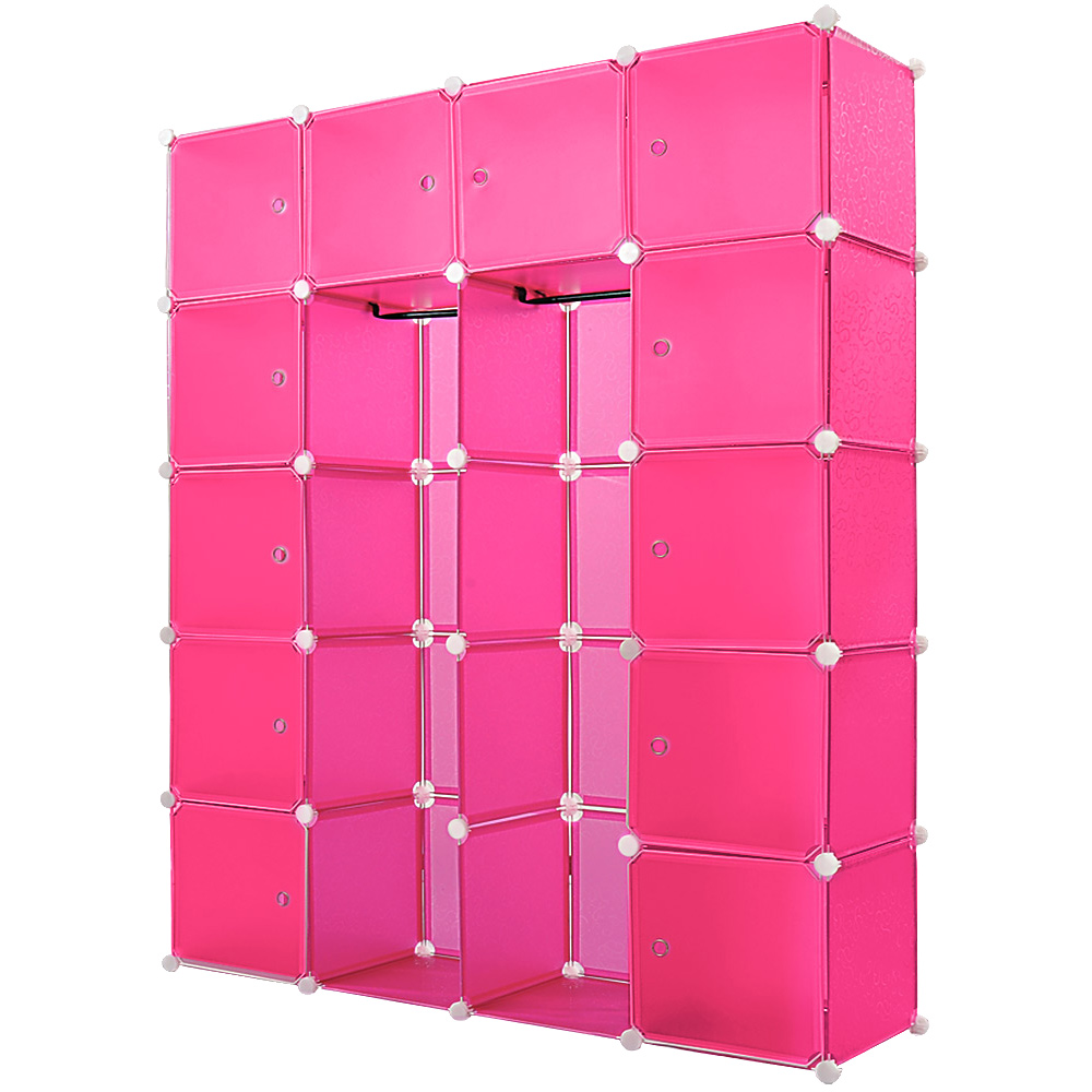 regal schrank steckregal garderobe kleiderschrank standregal steckregalsystem ebay. Black Bedroom Furniture Sets. Home Design Ideas