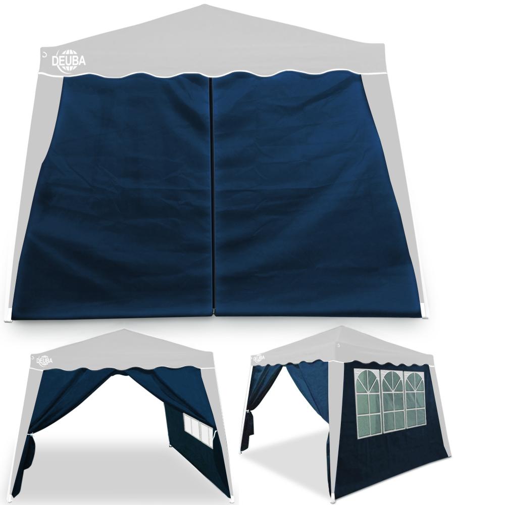 deuba pavillon capri 3x3m faltpavillon popup uv schutz 50. Black Bedroom Furniture Sets. Home Design Ideas