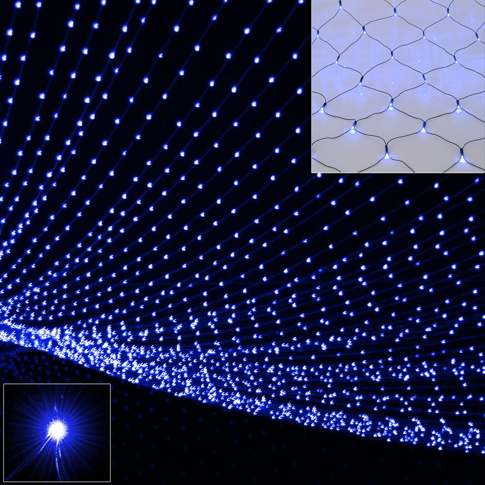 led lichterkette lichternetz lichtervorhang sternenhimmel partybeleuchtung licht ebay. Black Bedroom Furniture Sets. Home Design Ideas