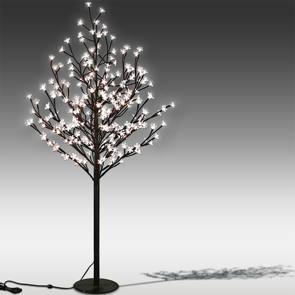 stehleuchte stehlampe weihnachtsbaum baum lichterkette bodenlampe lichterbaum ebay. Black Bedroom Furniture Sets. Home Design Ideas