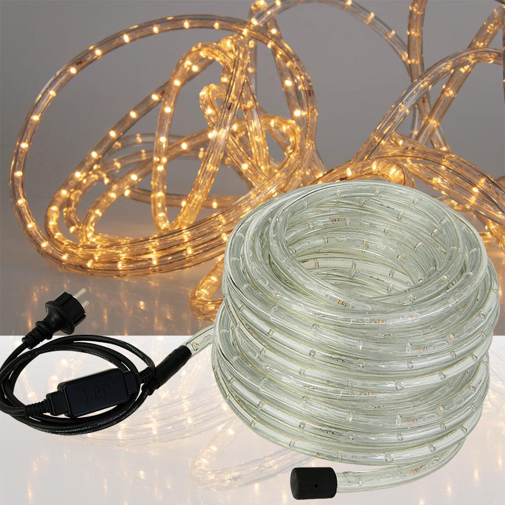 led rope light white blue fairy string outdoor lighting 5m