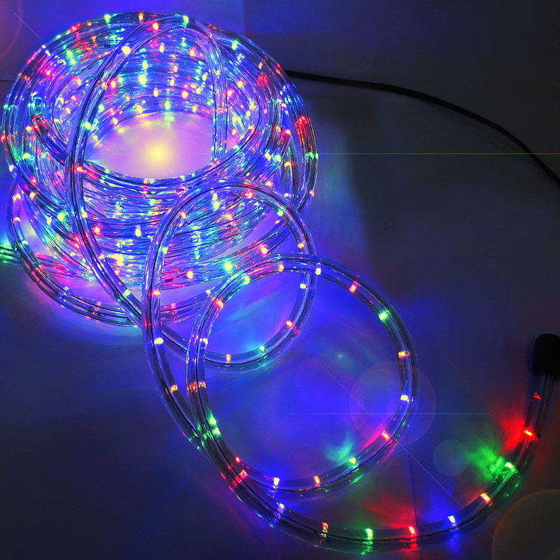 String Lights Guirlande Electrique : LED rope light white blue fairy string outdoor lighting 5m 10m 25m