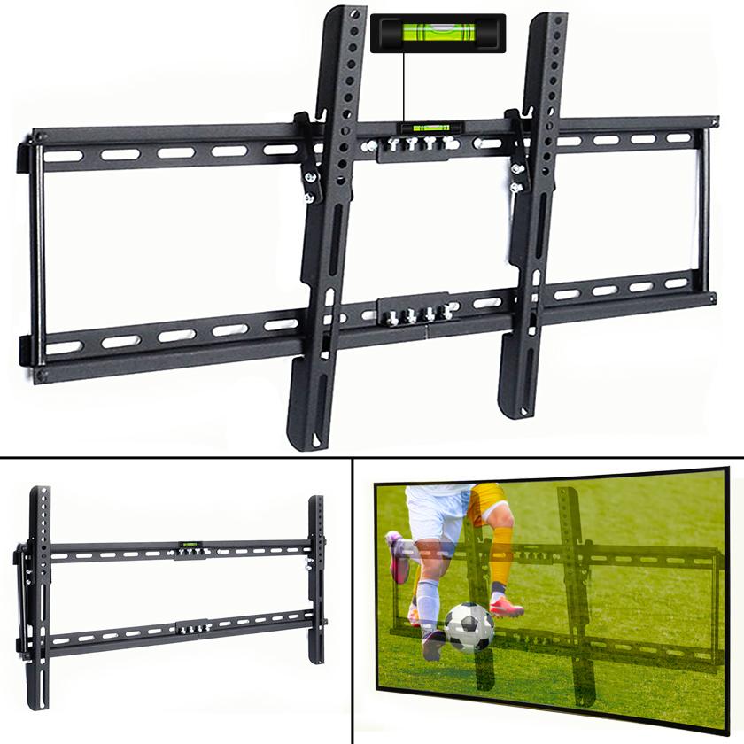 TV-Wandhalterung-Wandhalter-Halterung-LCD-Plasma-neigbar-schwenkbar-65-Zoll