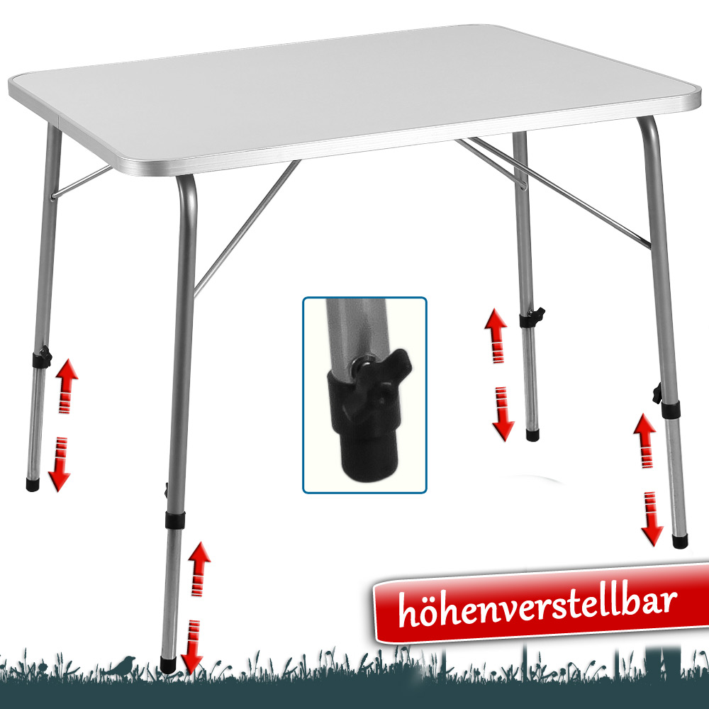 Table pliante en aluminium camping jardin meuble balcon for Fenetre 80x60