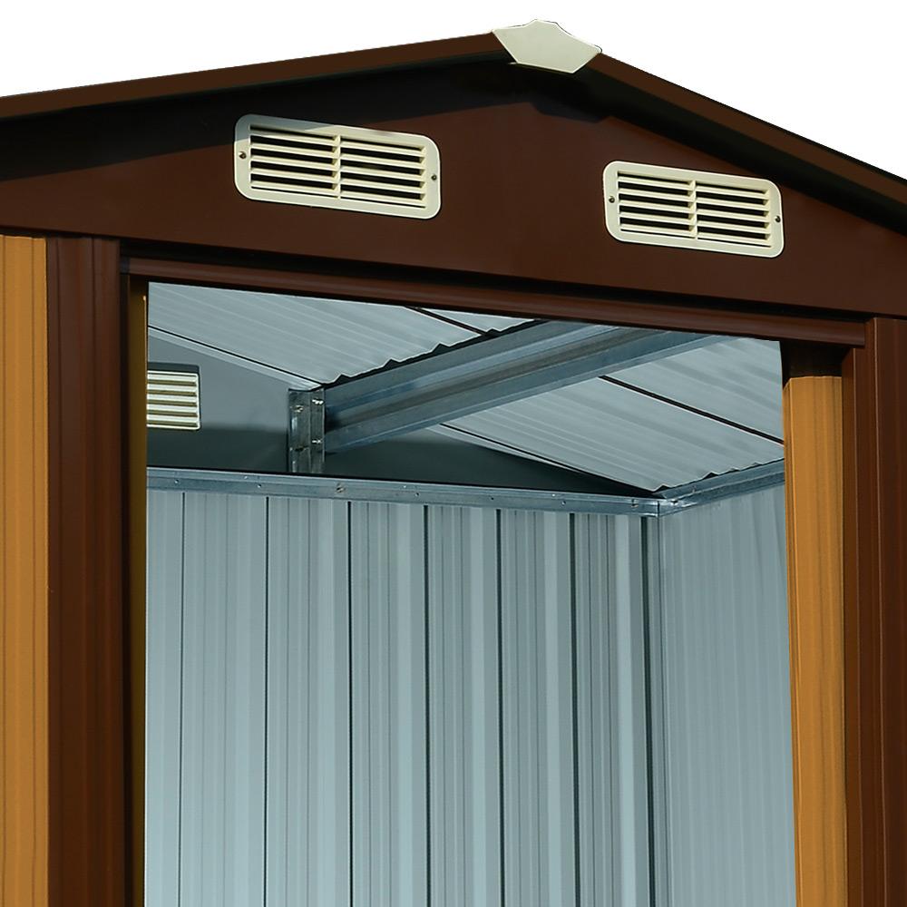 gartenhaus ger tehaus metall ger teschuppen gartenschuppen gew chshaus bis 4 5m. Black Bedroom Furniture Sets. Home Design Ideas