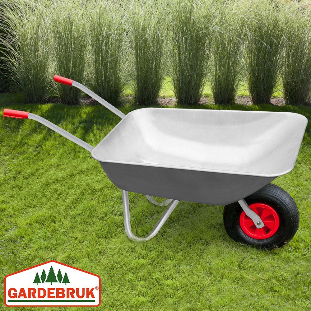 Brouette de jardin remorque chariot de transport m tal for Brouette de jardin plastique