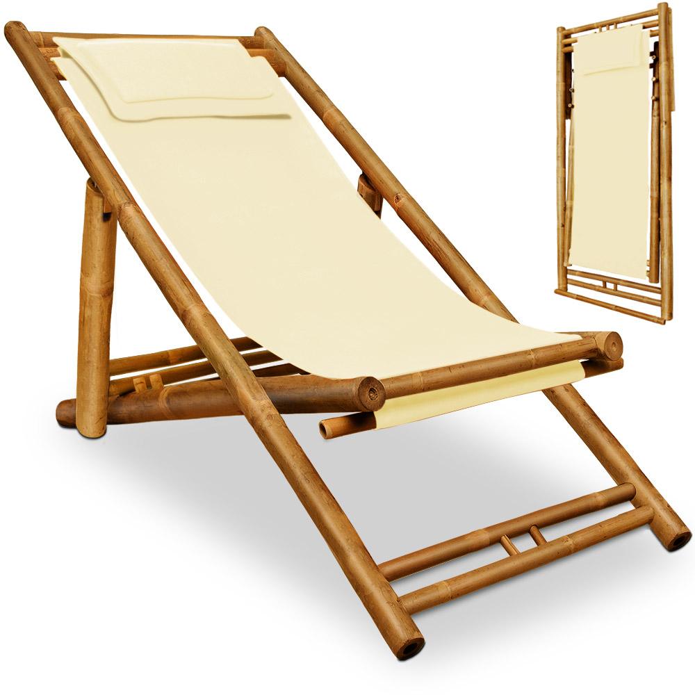 gartenliege holz sonnenliege bambus liegestuhl gartenstuhl. Black Bedroom Furniture Sets. Home Design Ideas