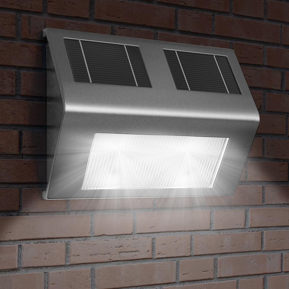 Applique lampe murale solaire led lumi re nergie solaire for Applique murale exterieur ebay
