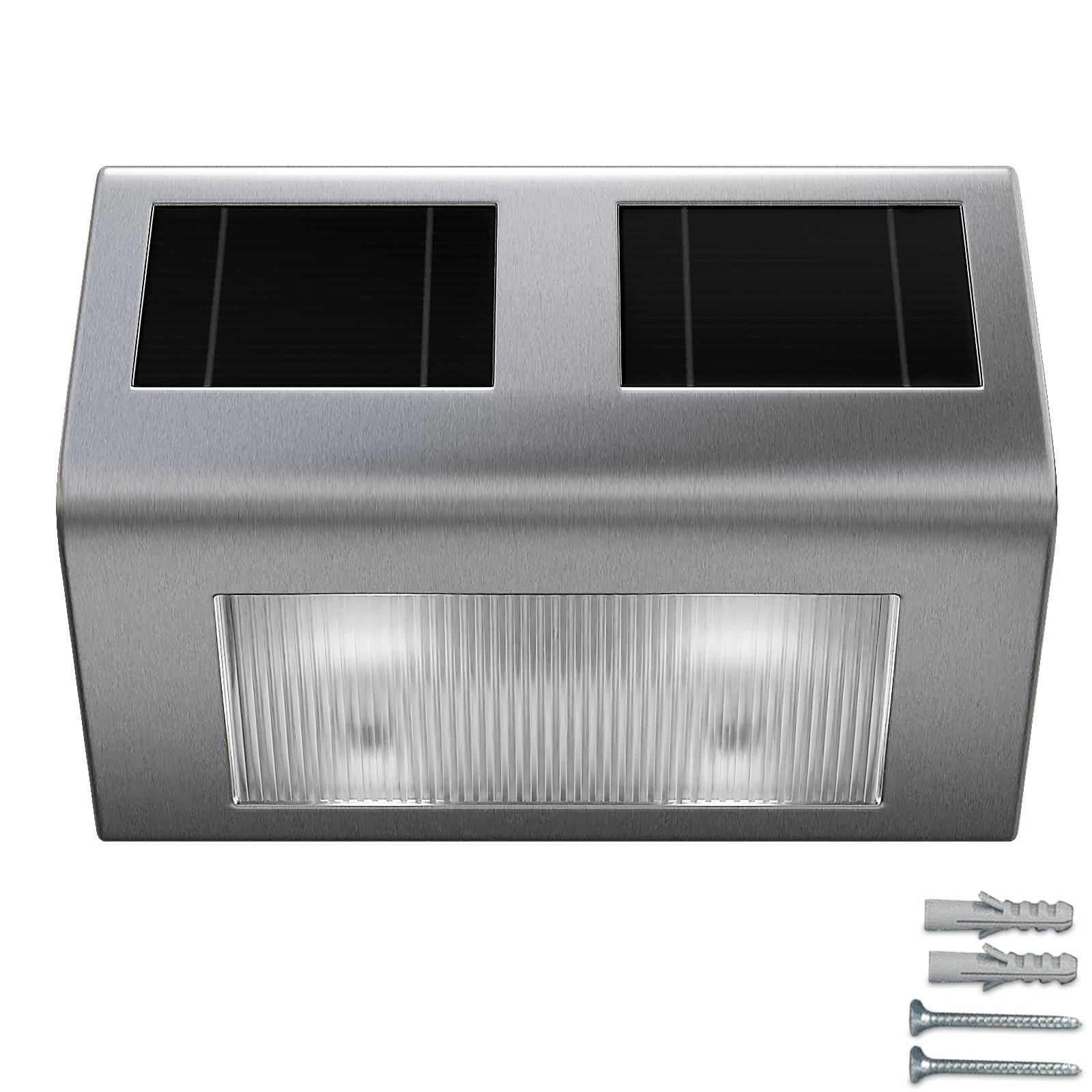 applique lampe murale solaire led lumi re nergie solaire luminaire ext rieur. Black Bedroom Furniture Sets. Home Design Ideas