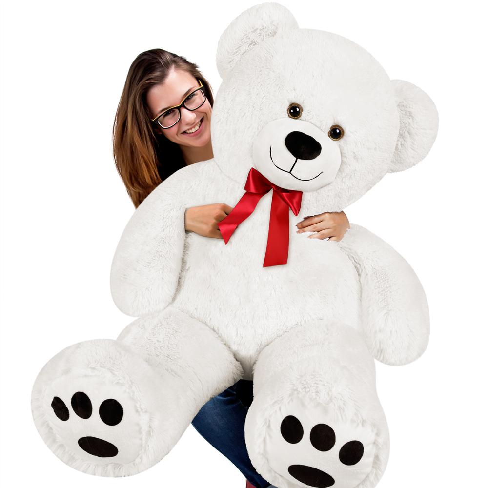 grand nounours g ant ours en peluche xxxl teddy bear. Black Bedroom Furniture Sets. Home Design Ideas
