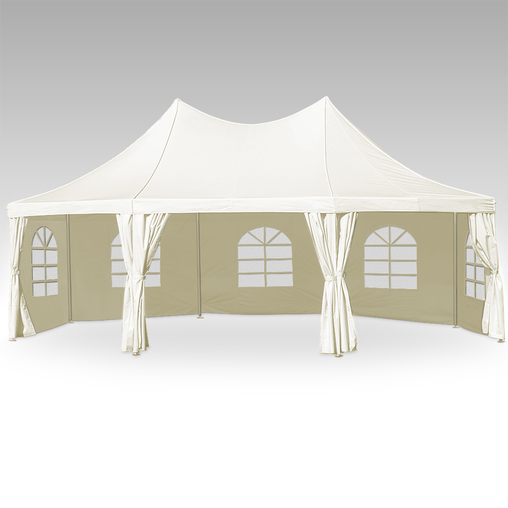 zelt partyzelt 6x12m pavillon 72m festzelt carport bierzelt gartenzelt 24m d24 ebay. Black Bedroom Furniture Sets. Home Design Ideas
