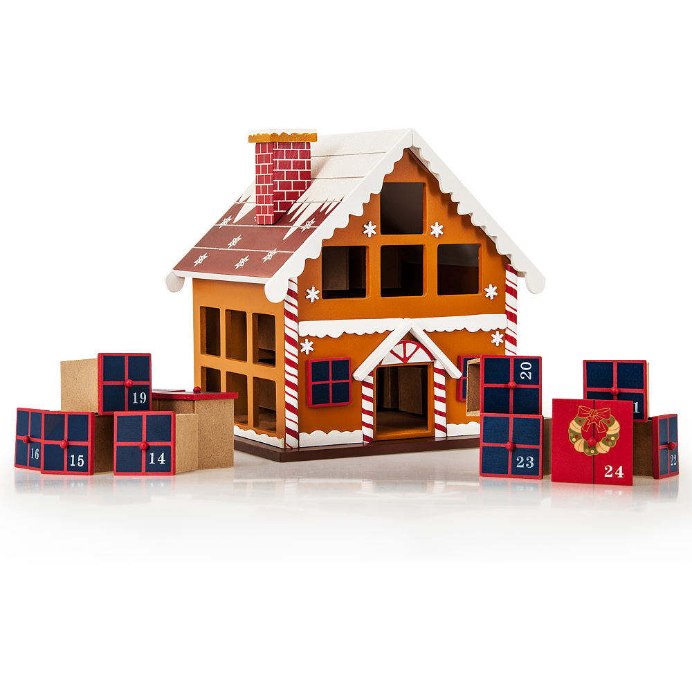 advent calendar christmas decoration wood reusable refillable xmas countdown ebay