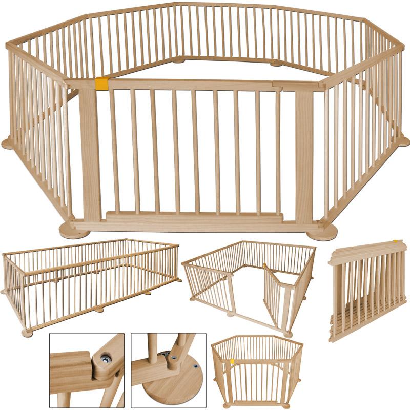 baby laufgitter laufstall absperrgitter kinder schutzgitter t r klappbar 720cm h ebay. Black Bedroom Furniture Sets. Home Design Ideas