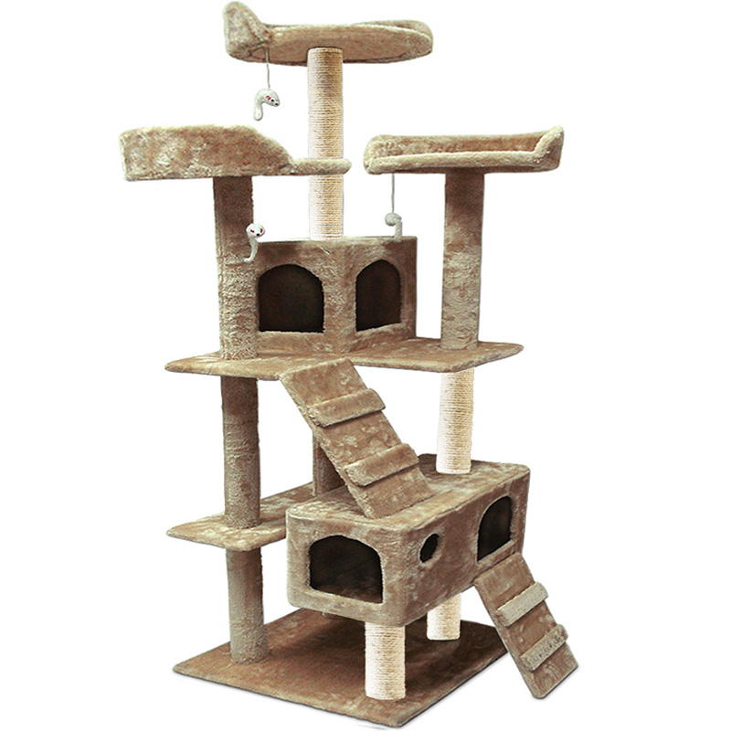 katzenbaum kratzbaum katzenkratzbaum katze sisal kletterbaum baum 182cm farbwahl ebay. Black Bedroom Furniture Sets. Home Design Ideas