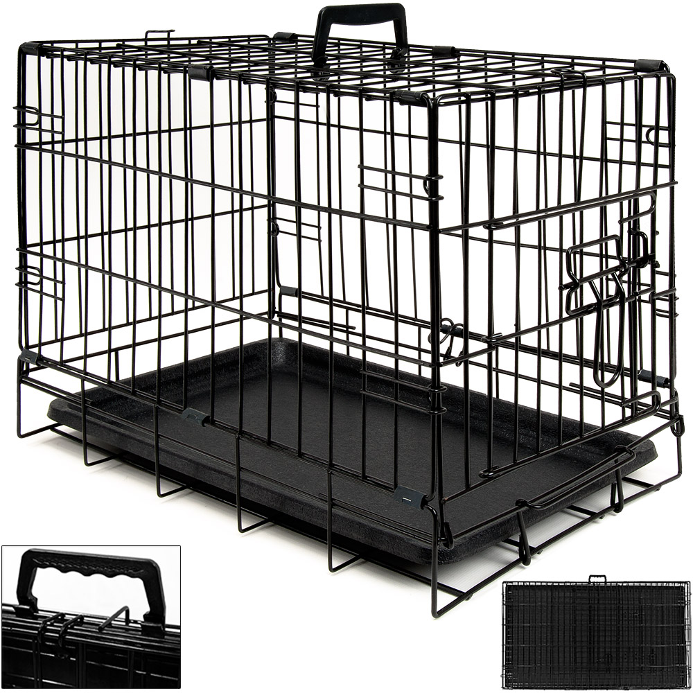 cage boite de transport pour chien cage animaux. Black Bedroom Furniture Sets. Home Design Ideas