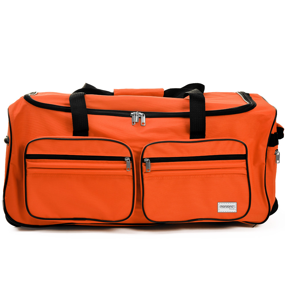 Travel Bag With Trolley Function -Wheeled Luggage Bag Roller Bag ...
