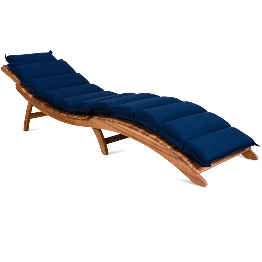 schwungliege auflage polster gartenliege liege liegestuhl sonnenliege creme d2 ebay. Black Bedroom Furniture Sets. Home Design Ideas