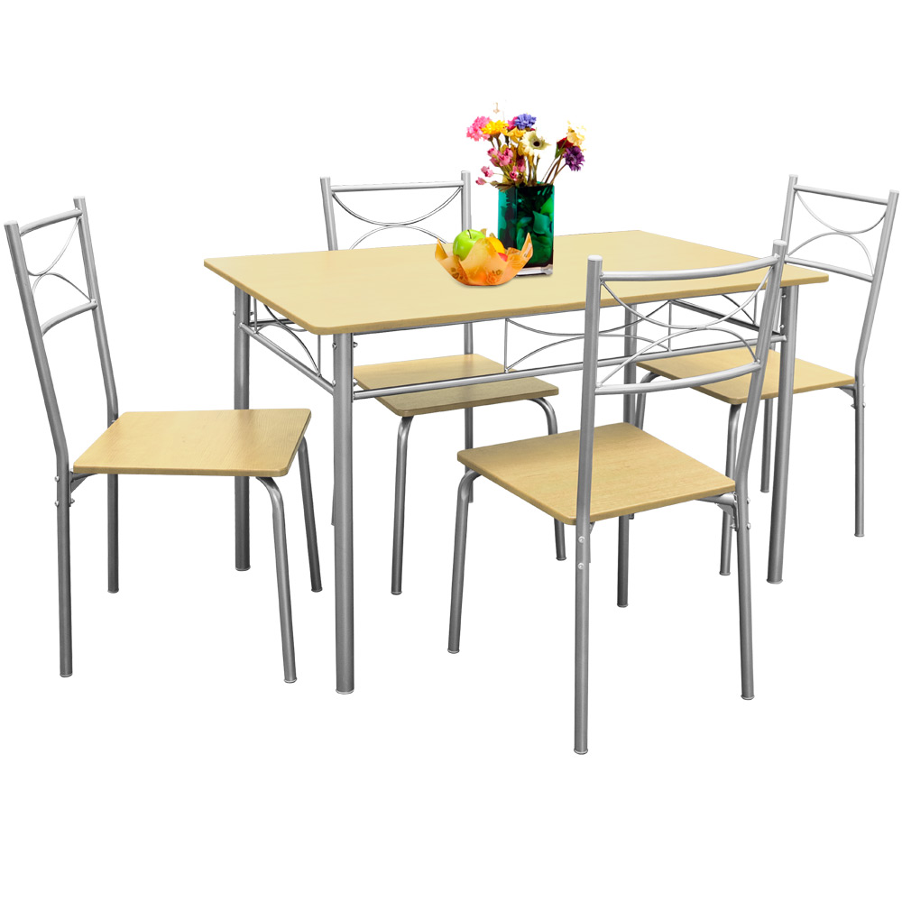 Furniture Set quotPaulquot 5 Pcs Beech 1 Table amp 4 Chairs  : ade101957g from www.ebay.co.uk size 1000 x 1000 jpeg 109kB