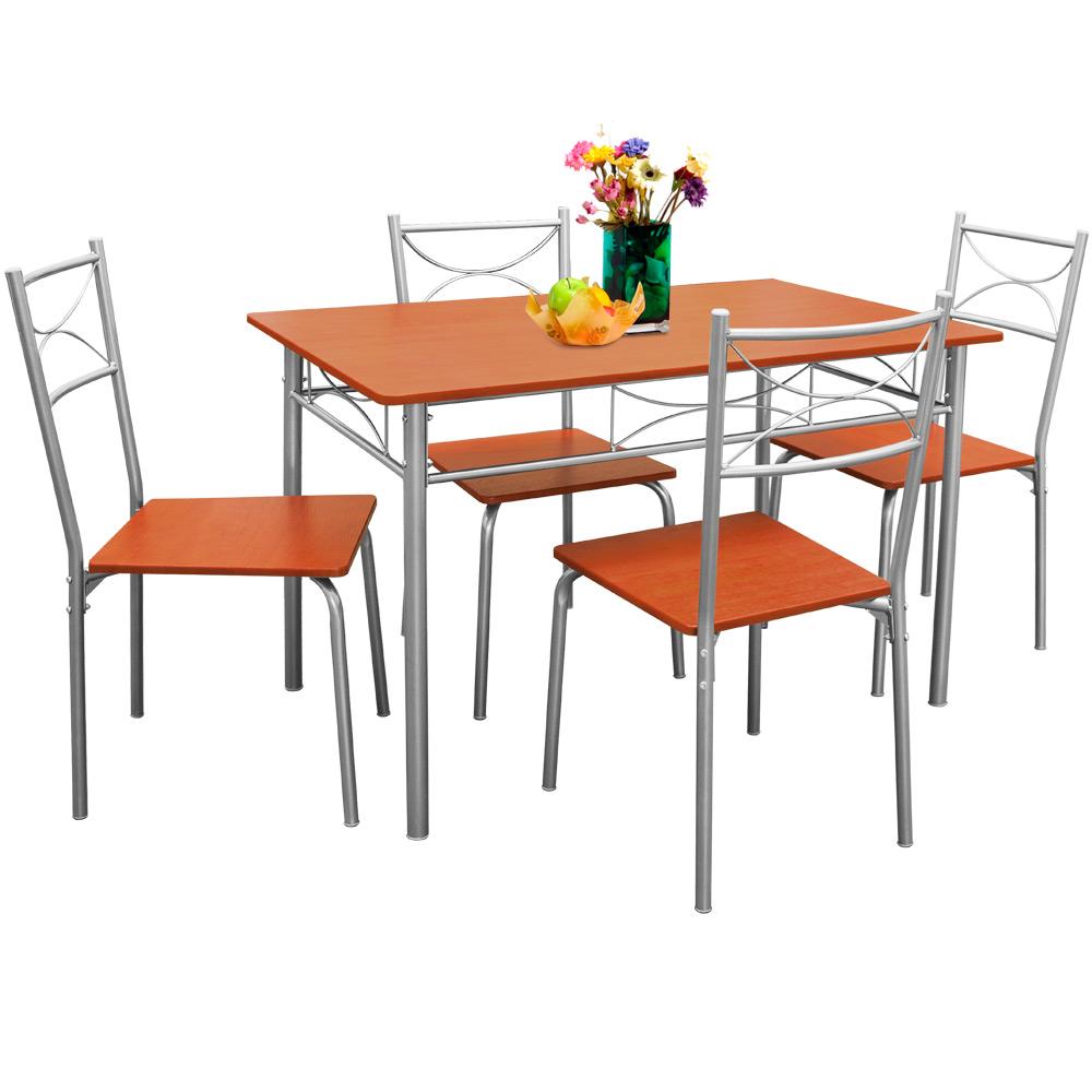 essgruppe esstisch k chentisch esszimmerstuhl esszimmer tisch stuhl sitzgruppe ebay. Black Bedroom Furniture Sets. Home Design Ideas