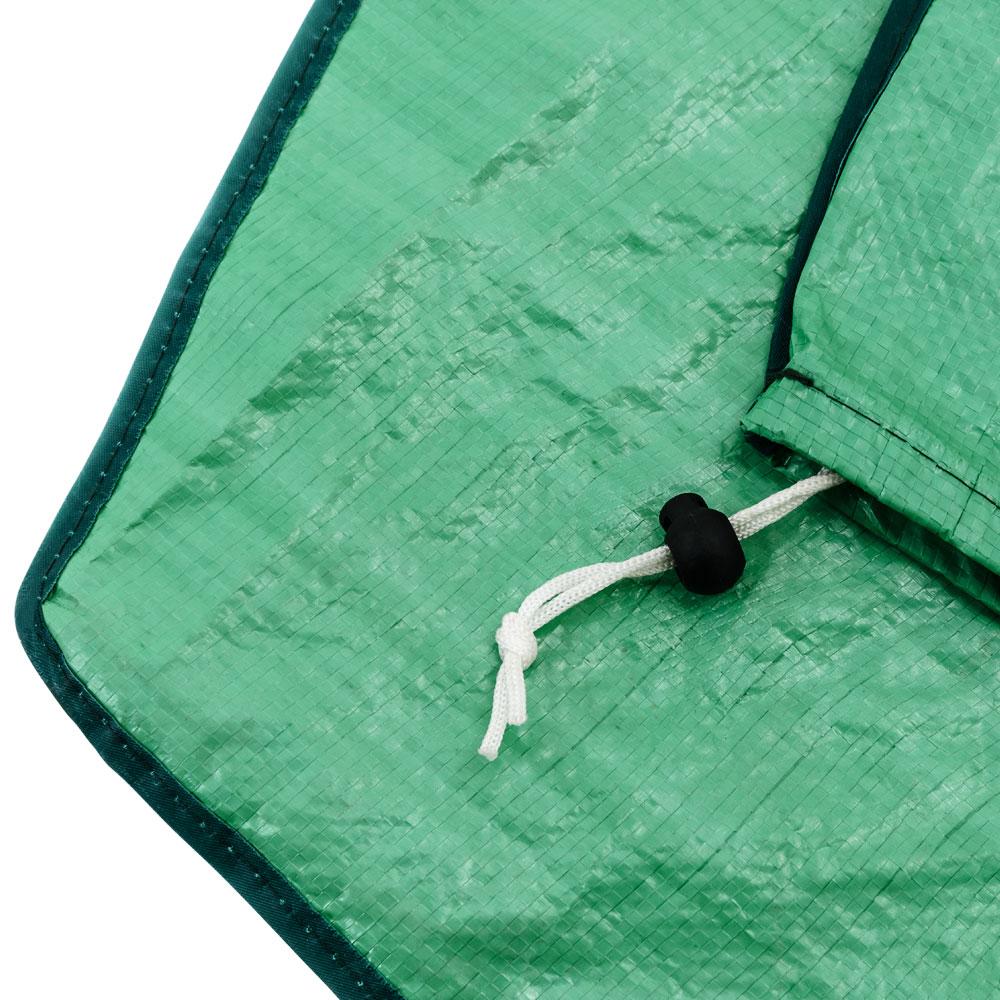 schutzh lle sonnenschirm abdeckhaube schirm abdeckung ampelschirm plane gr n ebay. Black Bedroom Furniture Sets. Home Design Ideas