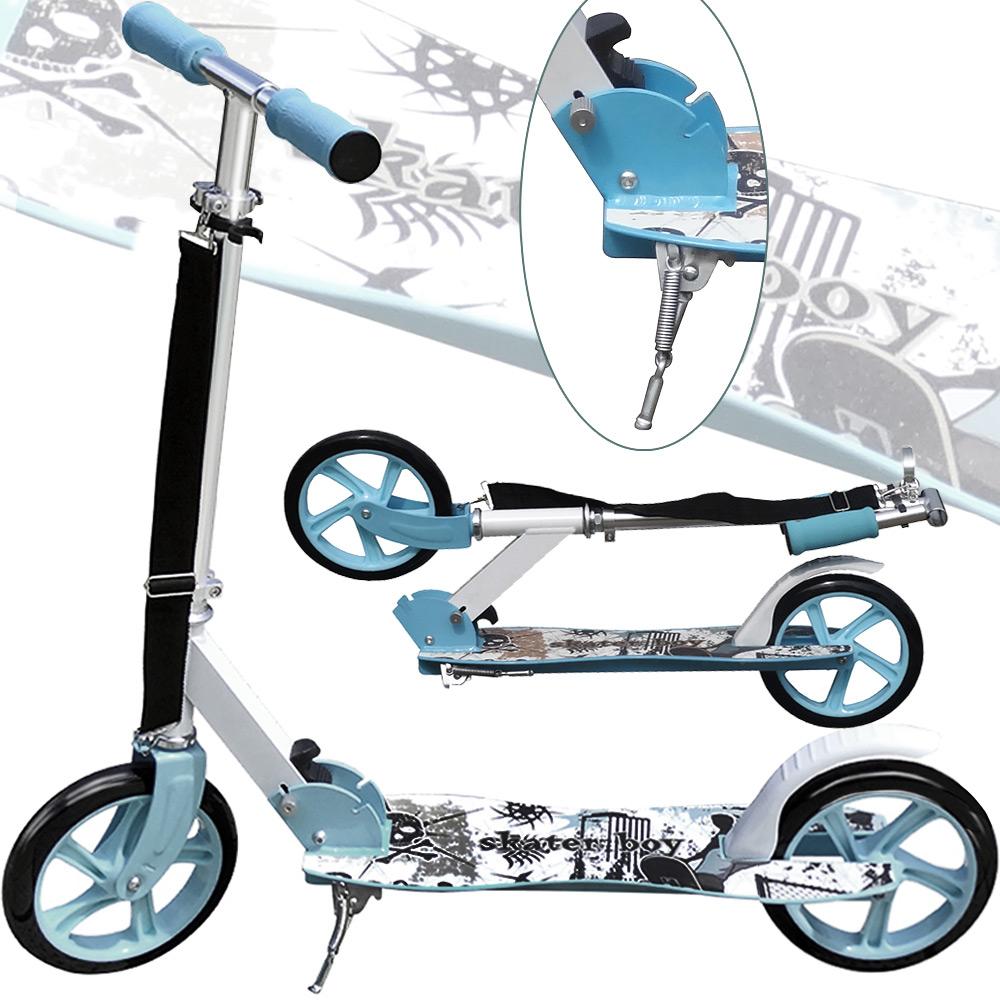 scooter roller pedal kick scooter children kids 205mm. Black Bedroom Furniture Sets. Home Design Ideas