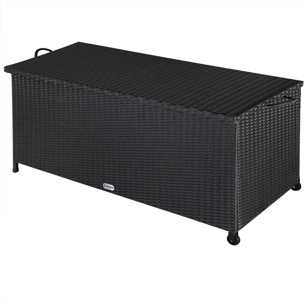auflagenbox polyrattan gartenbox kissenbox gartentruhe aufbewahrungsbox kiste ebay. Black Bedroom Furniture Sets. Home Design Ideas