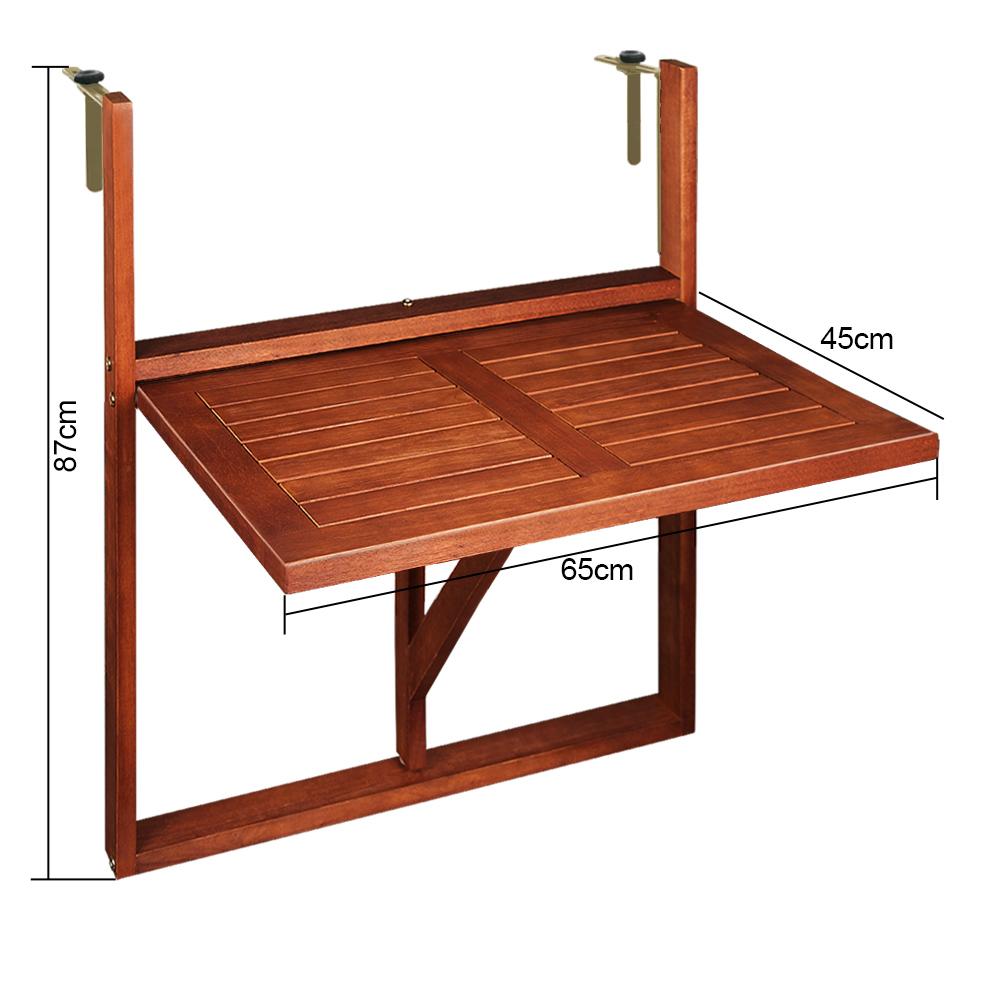 balkontisch h ngetisch balkonh ngetisch tisch klapptisch. Black Bedroom Furniture Sets. Home Design Ideas