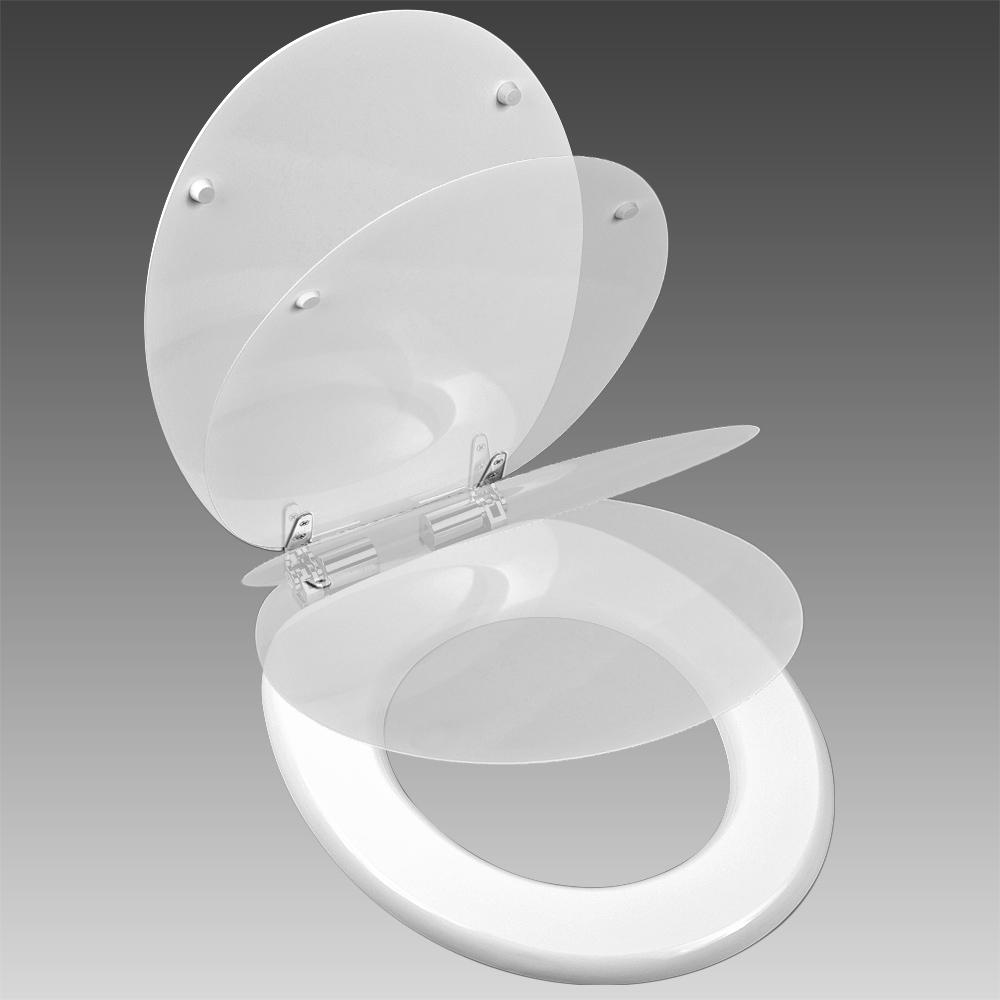 b ware wc klodeckel absenkautomatik toilettendeckel klobrille holz edelstahl ebay. Black Bedroom Furniture Sets. Home Design Ideas