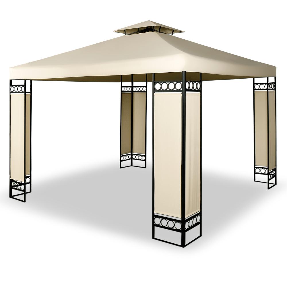 pavillon festzelt gartenzelt partyzelt gartenpavillon. Black Bedroom Furniture Sets. Home Design Ideas