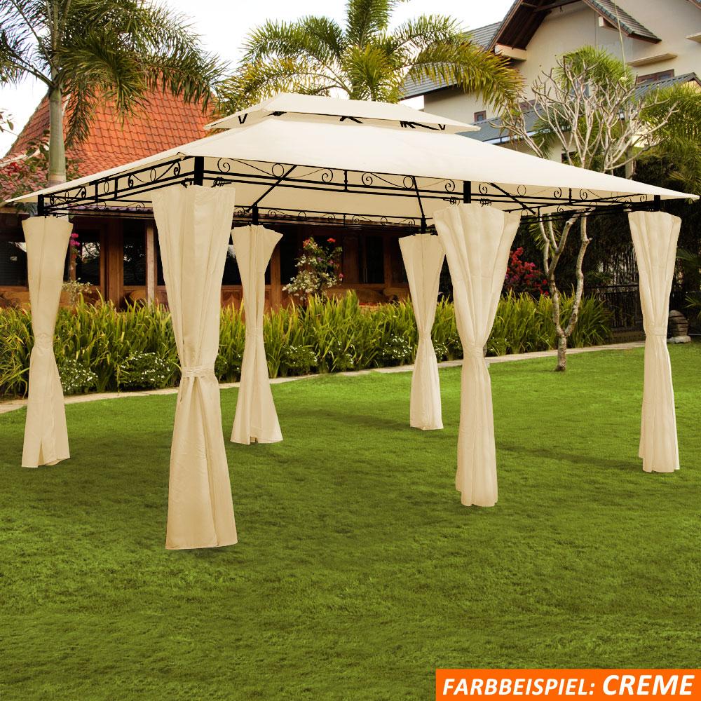 Pavillon Zelt Geschlossen : Pavillon partyzelt m zelt garten festzelt gartenzelt