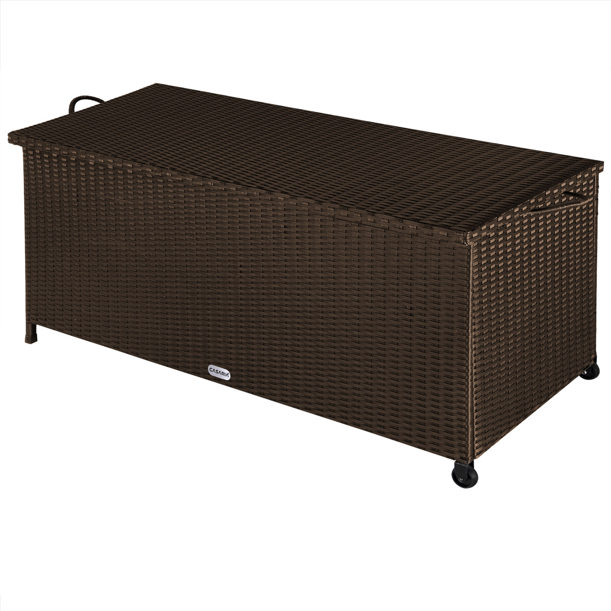 deuba auflagenbox polyrattan gartentruhe gartenbox kissenbox truhe auflage kiste ebay. Black Bedroom Furniture Sets. Home Design Ideas