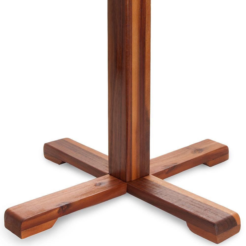 Gartentisch rund sunrise bistrotisch akazienholz holz for Bistrotisch holz