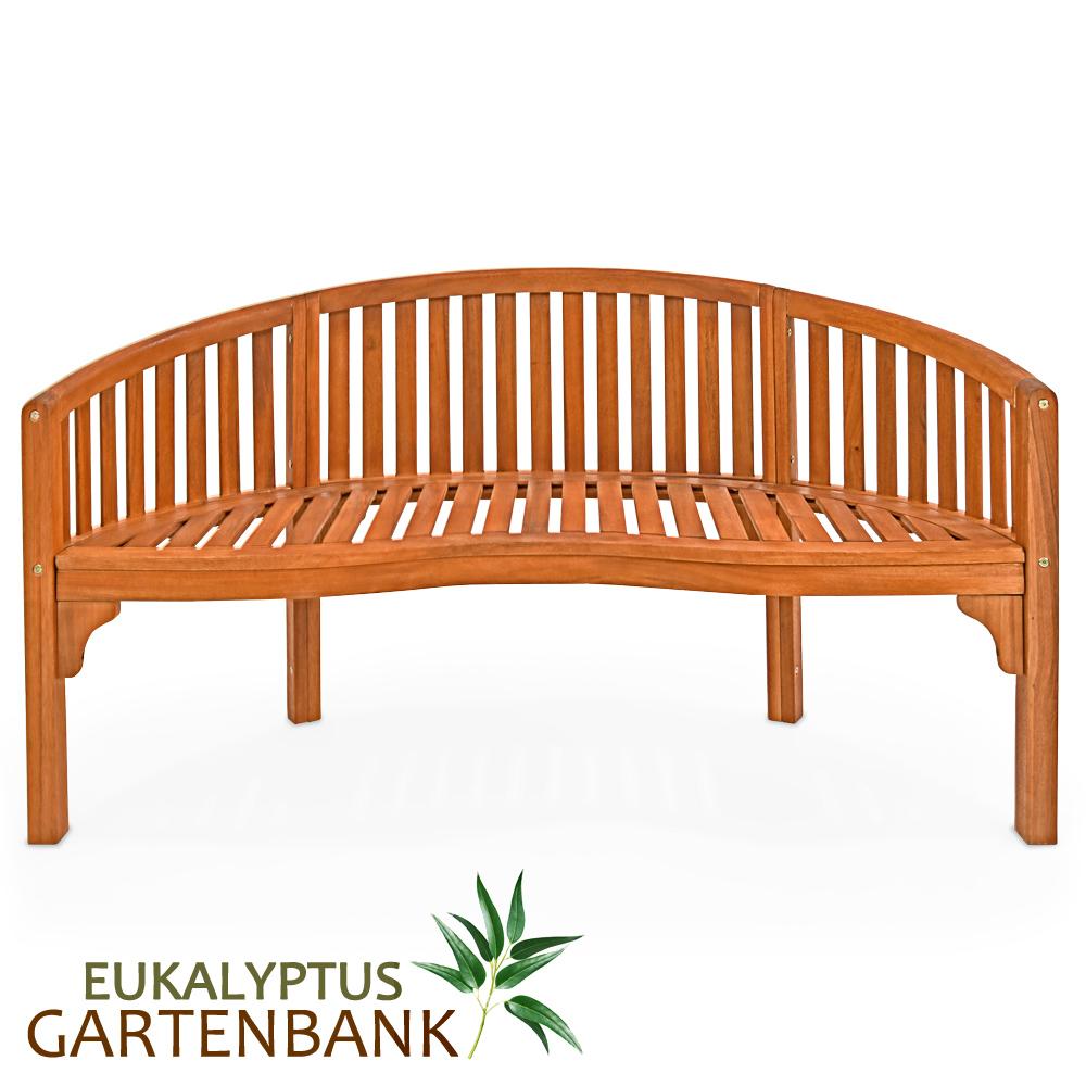 gartenbank bank sitzbank parkbank holzbank eukalyptus. Black Bedroom Furniture Sets. Home Design Ideas