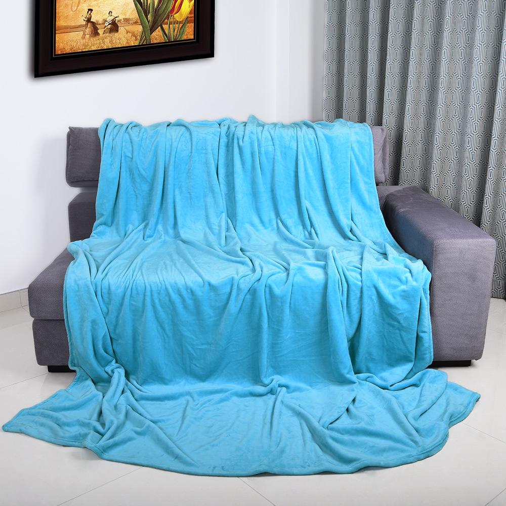 kuscheldecke 200x150cm tagesdecke bett berwurf sofadecke. Black Bedroom Furniture Sets. Home Design Ideas